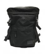 X-GIRL(エックスガール)の古着「Box Shaped Backpack」|ブラック