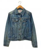 LEVI'S(リーバイス)の古着「ヴィンテージデニムジャケット」|ブルー