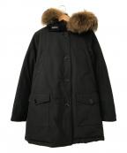 WOOLRICH()の古着「ARCTIC PARKA DF」 ブラック