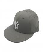 New Era(ニューエラ)の古着「Nylon 59FIFTY Cap」|グレー