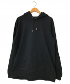 CELINE(セリーヌ)の古着「フード付クラシックスウェット」 ブラック