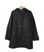 A.P.C.(アーペーセー)の古着「フーデッドウールコート」 ブラック