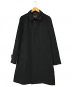 Traditional Weatherwear(トラディショナルウェザーウェア)の古着「ウールステンカラーコート」|ブラック