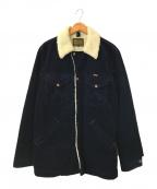 Wrangler(ラングラー)の古着「ボアランチコート」 ネイビー