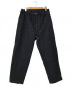 eN ROUTE(アンルート)の古着「デニムライクボンデージイージーパンツ」|インディゴ