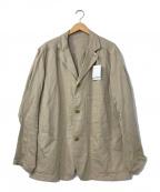 45R(フォーティファイブアール)の古着「リネン混ジャケット」|ベージュ