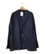 45R(フォーティファイブアール)の古着「リネンジャケット」|ネイビー