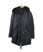 DIESEL Black Gold(ディーゼル ブラック ゴールド)の古着「N-3Bタイプコート」|ネイビー