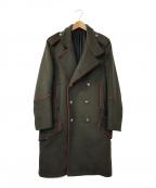 DIESEL Black Gold(ディーゼル ブラック ゴールド)の古着「Pコート」|オリーブ