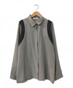 PANICALE(パニカーレ)の古着「シルクシャツ」|グレー