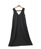 ()の古着「chicアンブレラジャンパースカート」 ブラック