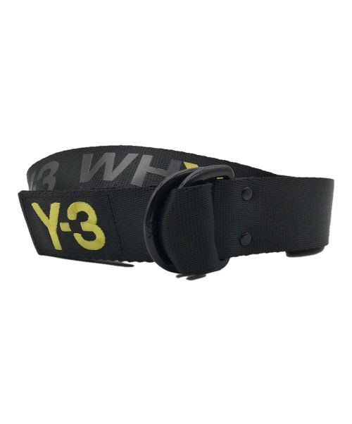 Y-3(ワイスリー)Y-3 (ワイスリー) SLOGAN BELT ブラック サイズ:Lの古着・服飾アイテム