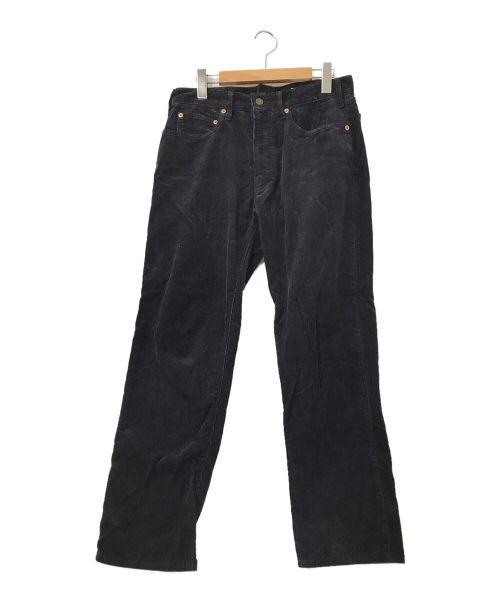 BONCOURA(ボンクラ)BONCOURA (ボンクラ) コーデュロイパンツ ネイビー サイズ:W31の古着・服飾アイテム