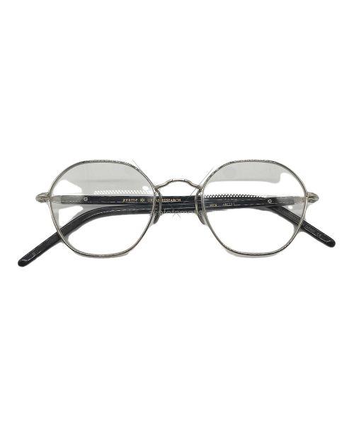 Ayame × URBAN RESEARCH(アヤメ×アーバンリサーチ)Ayame × URBAN RESEARCH (アヤメ×アーバンリサーチ) 伊達眼鏡 シルバー×ブラックの古着・服飾アイテム