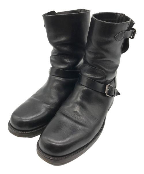 BUTTERO(ブッテロ)BUTTERO (ブッテロ) エンジニアブーツ ブラック サイズ:41の古着・服飾アイテム