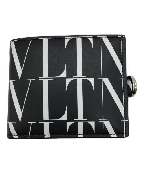 VALENTINO(ヴァレンティノ)VALENTINO (ヴァレンティノ) ロゴネックウォレット ブラックの古着・服飾アイテム