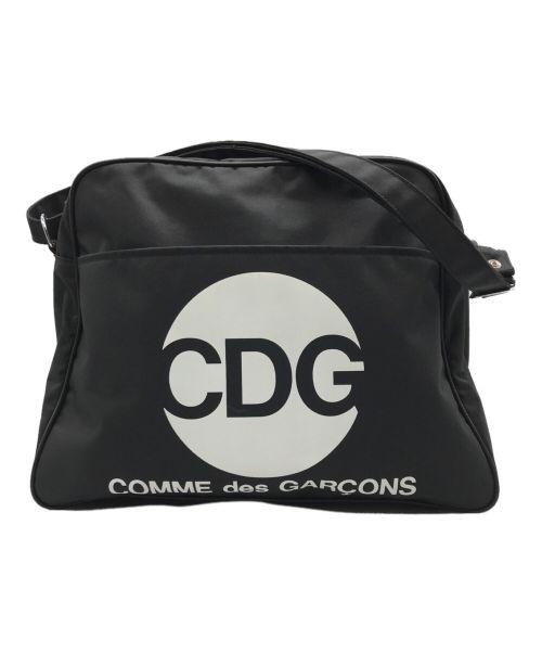 GOOD DESIGN SHOP COMME des GARCONS(グッドデザインショップ コムデギャルソン)GOOD DESIGN SHOP COMME des GARCONS (グッドデザインショップ コムデギャルソン) ナイロンショルダーバッグ ブラックの古着・服飾アイテム