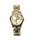 Marc by MarcJacobs(マークバイマークジェイコブス)の古着「腕時計」 ゴールド
