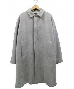 A vontade(アボンタージ)の古着「Wool Over Coat」|グレー