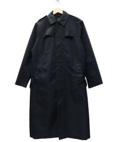 A.P.C(アーペーセー)の古着「ステンカラーコート」|ブラック
