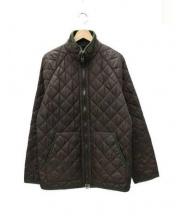 POLO RALPH LAUREN(ポロ ラルフローレン)の古着「キルティングコート」|ブラウン