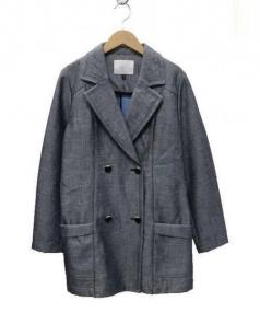 qualite(カリテ)の古着「シャンブレーボンディングコート」|インディゴ