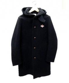DANTON(ダントン)の古着「ウールコート」|ブラック
