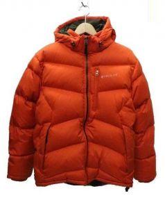 Timberland(ティンバーランド)の古着「ダウンジャケット」|オレンジ