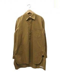 TIN HOUSE(ティンハウス)の古着「シャツジャケット」|ブラウン