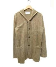 ESTNATION(エストネーション)の古着「パイル地コンチョボタンジャケット」|ブラウン