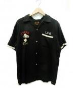 テーラー東洋(テーラートウヨウ)の古着「オープンカラーシャツ」 ブラック