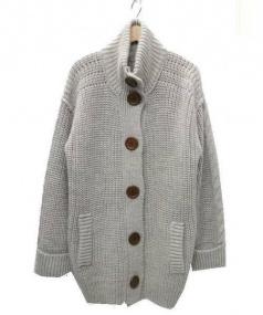 Chloe(クロエ)の古着「ニットジャケット」|グレー