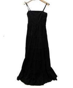 MARIHA(マリハ)の古着「キャミソールワンピース」|ブラック