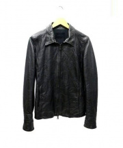 junhashimoto(ジュンハシモト)の古着「レザージャケット」 ブラック