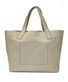 genten(ゲンテン)の古着「ハンドバッグ」|ベージュ