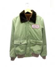 WACKO MARIA(ワコマリア)の古着「フライトジャケット」 オリーブ