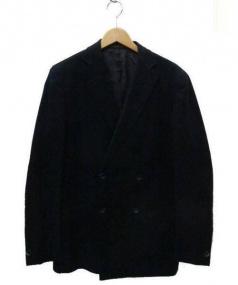 RAFFAELE CARUSO(ラファエルカルーゾ)の古着「ダブルジャケット」|ブラック