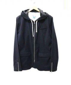 adidas(アディダス)の古着「フーデッドジャケット」 ブラック