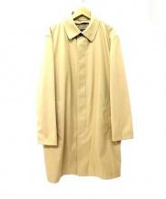 Brooks Brothers(ブルックスブラザーズ)の古着「ステンカラーコート」|ベージュ