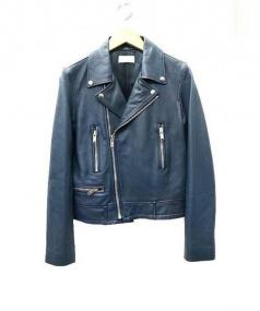 upper hights(アッパー ハイツ)の古着「ライダースジャケット」|ブルー