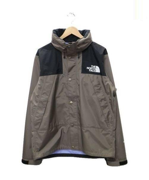 THE NORTH FACE (ザノースフェイス) マウンテンパーカー グレー×ブラック サイズL Mountain Raintex Jacket  定価26.000円+税