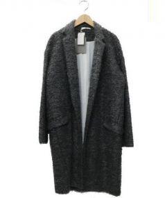 REYC(リック)の古着「ウールモヘヤオーバーコート」|グレー