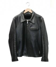 Schott(ショット)の古着「レザートラッカージャケット」|ブラック