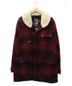 Woolrich(ウールリッチ)の古着「ランチコート」|レッド