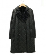 MACKINTOSH(マッキントッシュ)の古着「裏ボアキルティングコート」|ブラック