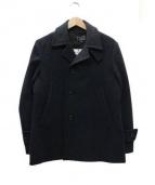 BLUE WORK(ブルーワーク)の古着「メルトンコート」 グレー
