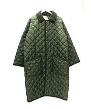 Traditional Weatherwear(トラディショナルウェザーウェア)の古着「キルティングコート」 グリーン