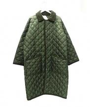 Traditional Weatherwear(トラディショナルウェザーウェア)の古着「キルティングコート」|グリーン