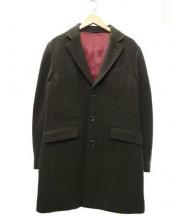 EPOCA UOMO(エポカ ウォモ)の古着「チェスターコート」 オリーブ