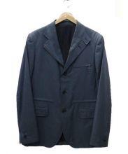 dunhill(ダンヒル)の古着「ジップアップテーラードジャケット」|グレー